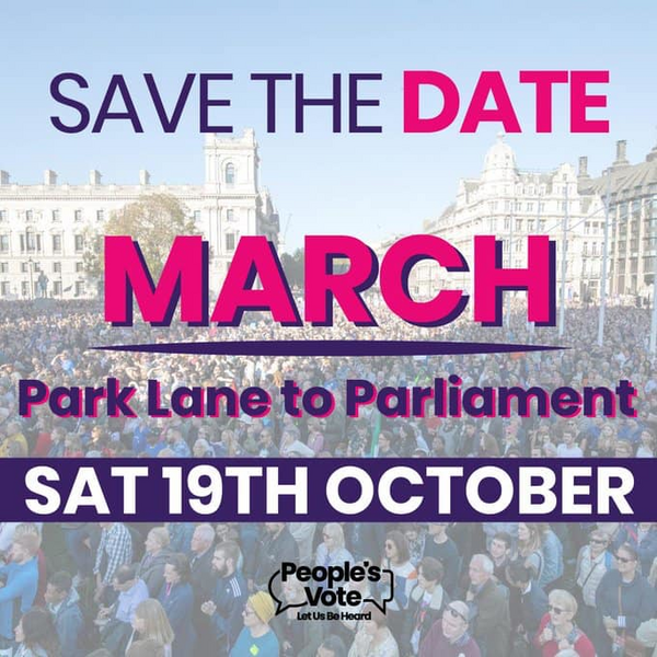 Save the Date - March on Parliament