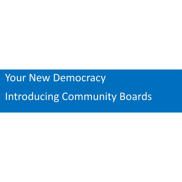 Community Boards